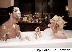 Love is in the air -- photo from Trump International Hotel Las Vegas