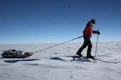 Norwegian Christian Eide sets new speed record to the South Pole