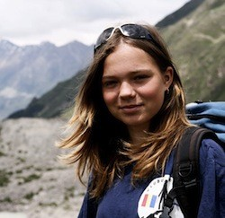 16-year old Crina is climbing the tallest mountain in Antarctica