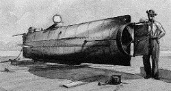 Confederate submarine