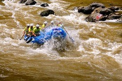 The World Rafting Championships were won by Japan