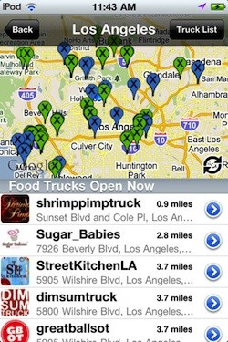 truxmap smartphone app for foodies