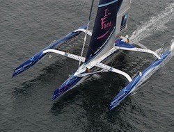 A new round-the-world sailing speed record has been set!