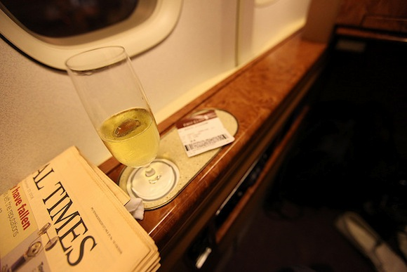 in-flight services economy class
