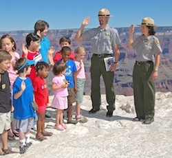 national park ranger Grand Canyon