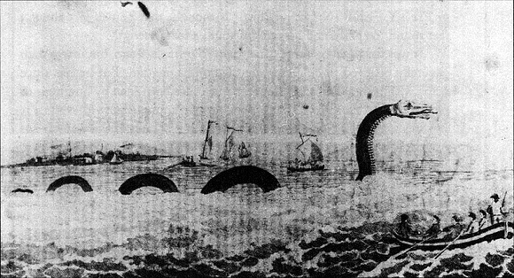 Nessie, sea serpent