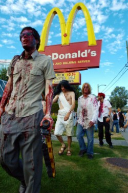 zombies at mcdonalds