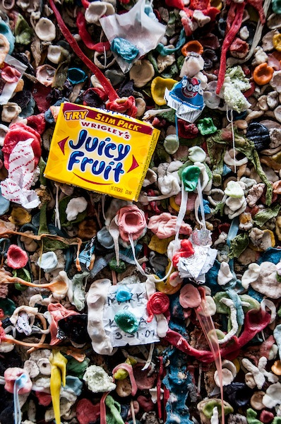 Photo of the day: Seattle gum wall