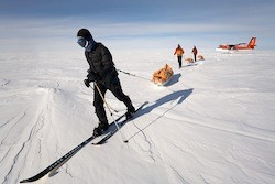 Skiing the last degree to the South Pole