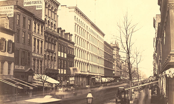Broadway New York 1855