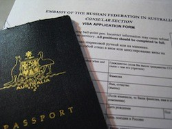 visa application form